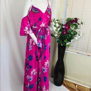 Rachel Roy Floral Maxi Dress Size 14